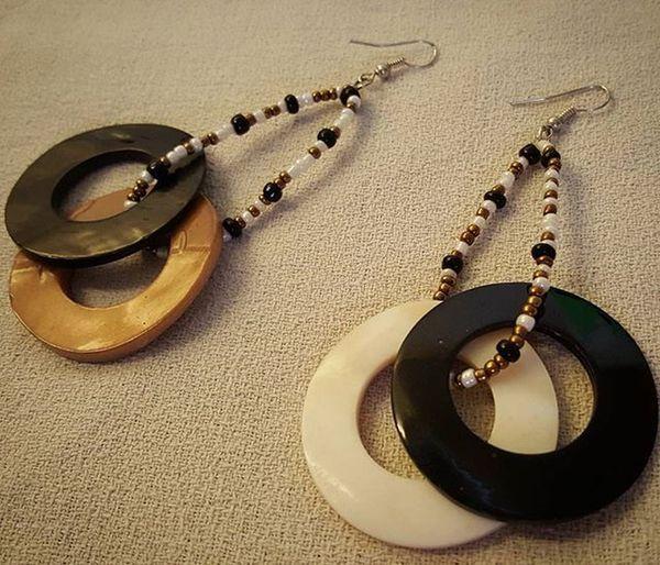 "Some of my ""creations"".. Earrings Earringshomemade Homemade Homemadejewelry Jewelry Orecchinifattiamano Orecchini FaidaTe Bigiotteriaartigianale Bigiotteria Italy Summerjewelry"