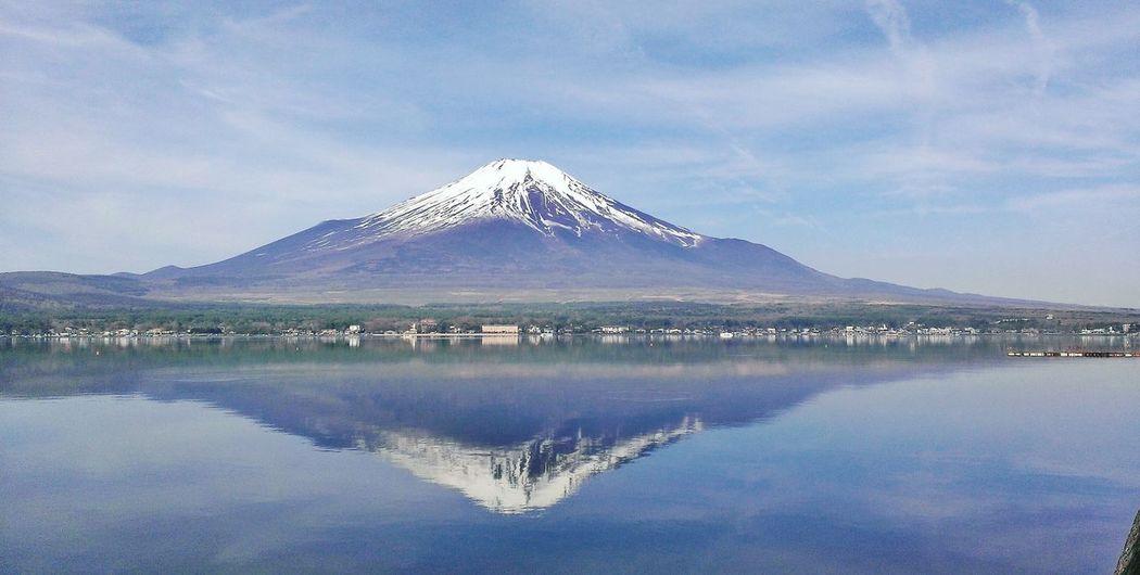Mount FuJi 富士山 山中湖 Lake Yamanaka