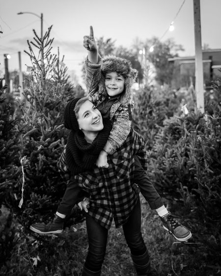 Christmas Family Bonding Casual Clothing Emotion Happiness Leisure Activity Lifestyles Looking At Camera Nature Outdoors Plant Portrait Positive Emotion Real People Smiling Togetherness Two People Women Young Adult Young Women This Is Family #FREIHEITBERLIN