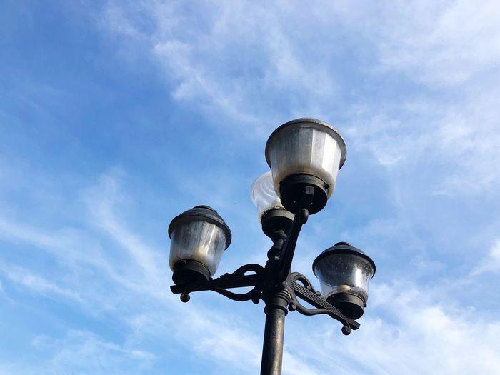 EyeEm Selects Low Angle View Sky Cloud - Sky Street Light Street Lighting Equipment