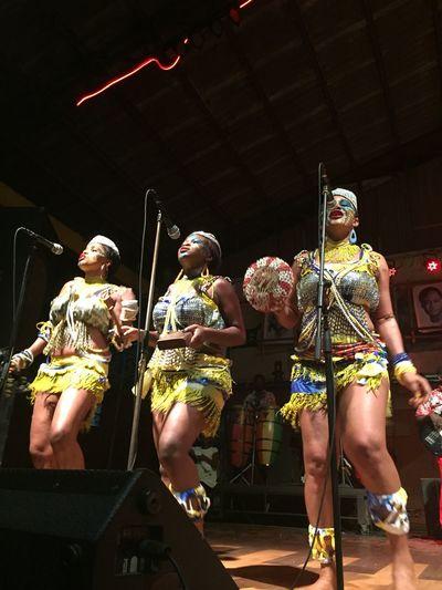 Performance New Afrika Shrine Femi kuti Dancers