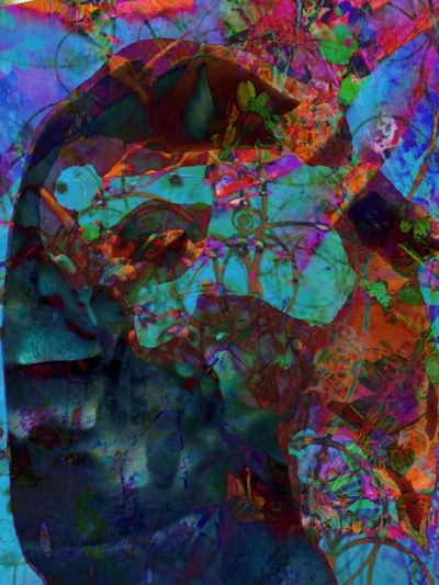 Sleeping Beauty -a series Color Icolorama Abstractporn Digital Art