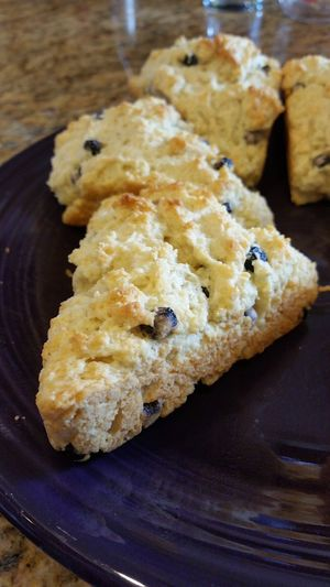 Blueberry scones Food And Drink Food Homemade Scones In The Making Scones Scone Homemade