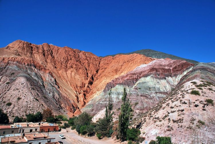 Purmamarca with the hill of seven colors, argentina