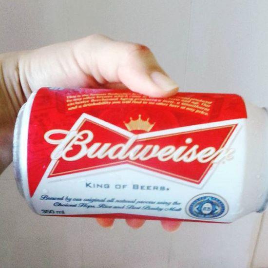 achei uma cerveja d princesa 👑 Budwiser Gostei Noclima Tacalor Rio40°