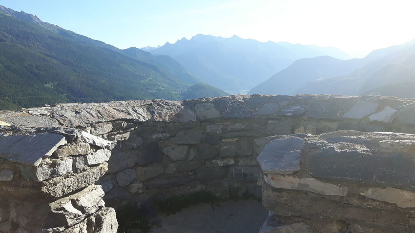 Aussois - Savoie - France Fort Marie -Christine Mountains Mountains And Sky Mountains And Valleys The Alps The Great Outdoors Views From The Fortress