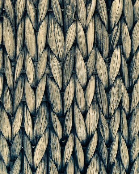 Basket details Full Frame Backgrounds Pattern No People Day Textured  Detail Close-up Monochrome Monochrome Photography Symmetry Weave Pattern