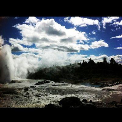뉴질랜드  로토루아  볼케이노파크  여행 2012 다시갈래