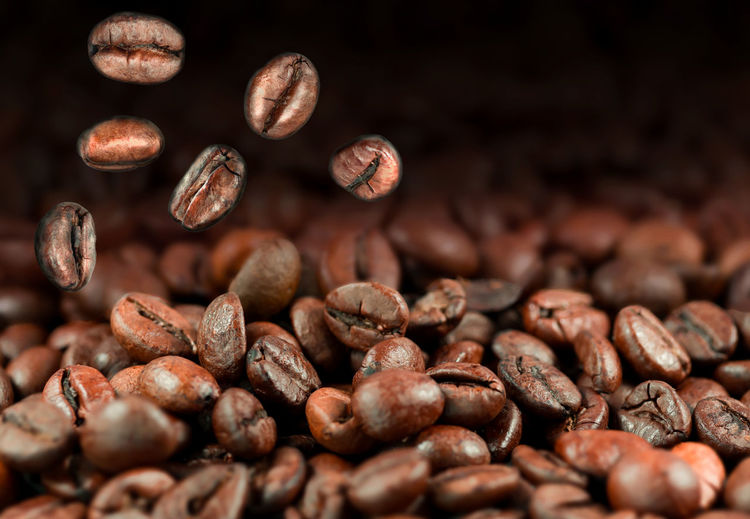 Falling coffee beans Arabica Backgrounds Bean Beverage Black Brown Cafe Caffeine Close-up Coffee Coffee Beans Detail Espresso Falling Focus On Foreground Full Frame Heap Mocha Natural Pattern Nature No People Roasted Roasted Coffee Bean Warm