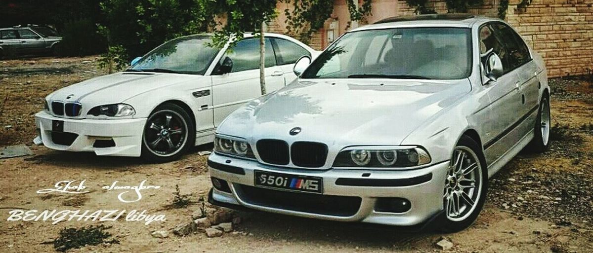 BMW M3 BMW M5  Benghazi_libya