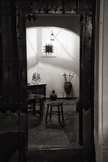 Cortegana Andalucía Indoors  Home Interior Spirituality No People Table Religion Home Showcase Interior Statue Day