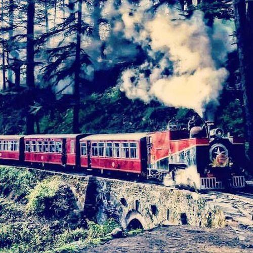 Toy Train from Kalka to Shimla .. Beautiful Journey :) Kalka Shimla Toytrain Railway Instahimachal Himachalpictures Kinnaurdiaries Queenofhills Himachalpradesh