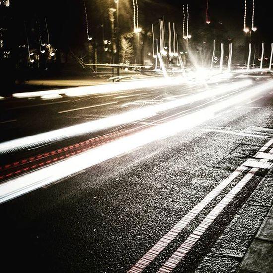 Speed of Light (Day 67 of 366) Lighttrails Slowshutter Night Cars Nickblak