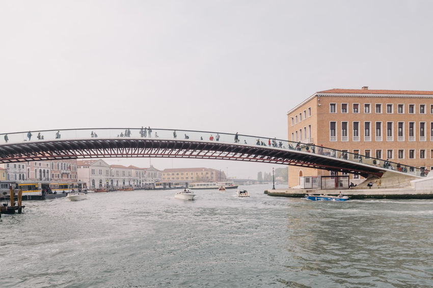 Architecture Bridge - Man Made Structure Building Exterior Built Structure City Clear Sky Day Nature No People Outdoors Sea Sky Water