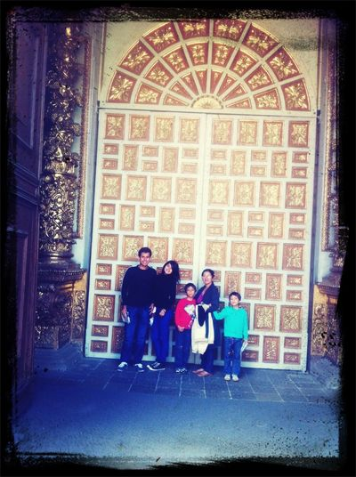 De paseo en con la familia :)