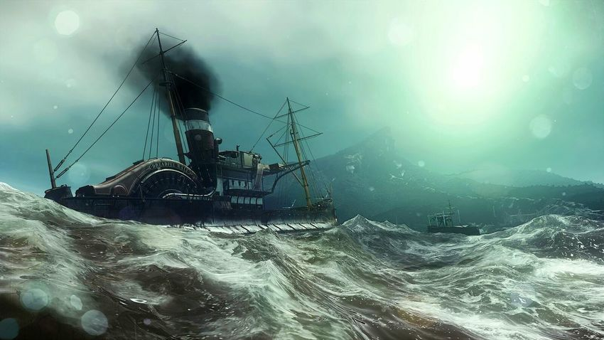 Nautical Vessel Outdoors Night No People Military Nature Dishonored 2 Dreadful Walevideogame PS4 Playing Games Corvo Attano The Places I've Been And The Things I've Seen Autumn 2016 November2016 From My Point Of View Video Gaming Karnacka Dishonored