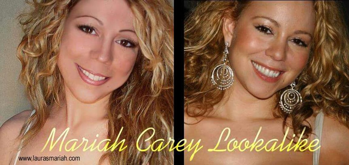 Mariah Lookalike Talent Impersonator MariahCarey Check This Out Curly Hair💜 Taking Photos