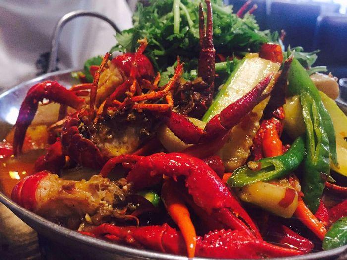 Chinese Food Crayfish Food