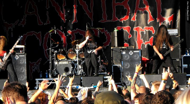 Cannibal Corpse Live Festival