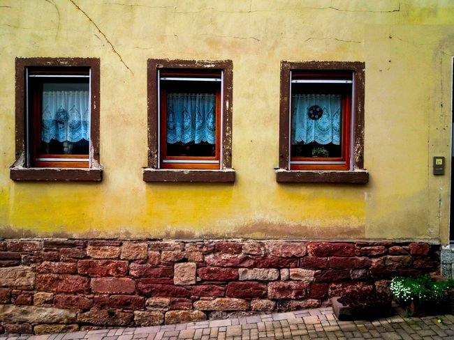 Window Multi Colored Architecture Outdoors No People Day Residential Building Closed Close-up