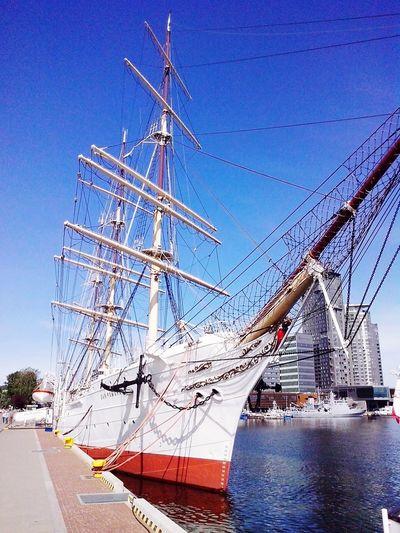Gdynia Dar Pomorza Baltops Poland Sailing Ship