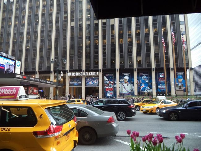 "Here is a Photo Shot of Madison Square Garden. This Photo was taken just over the road and outside of New York's ""Hotel Pennsylvania"". 2015  2015 Year New York New York City New York Skyline  New York ❤ New York, New York Travel Travel Photography Car Land Vehicle Mode Of Transport New York City Life New York City Photos New York New York New York Street Photography Street Tourism Destination Tourist Destination Traffic Transportation Travel Destination Travel Destinations Travel Photos Travelphotography"