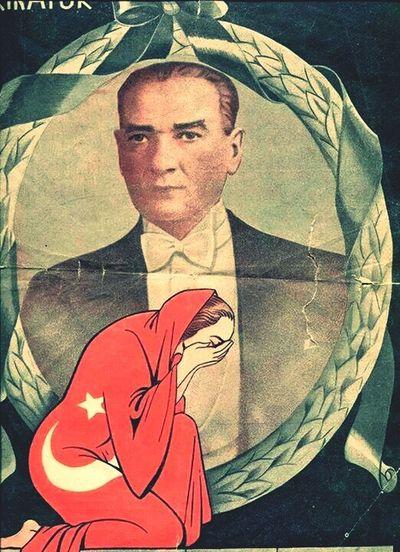 10 Kasim1938 Atatürk Leader Flag