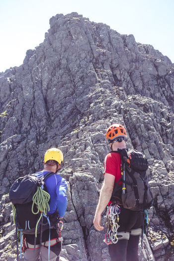 Ben Nevis Climbers Confidence  Exercise Exploring Hot Nature Scotland Teamwork Tower Ridge Adventure Beauty In Nature Climbing Danger Extreme Sports Healthy Lifestyle Leisure Activity Lifestyles Mountain Mountain Climbing Outdoors Real People Safety Summer Togetherness