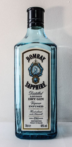 bombay Gin Tonic White Bottle GIN Ginlovers Drink Drinks Bombaysapphire Bombay Bottle Single Object Close-up Blue No People Perfume Sprayer Indoors  Day