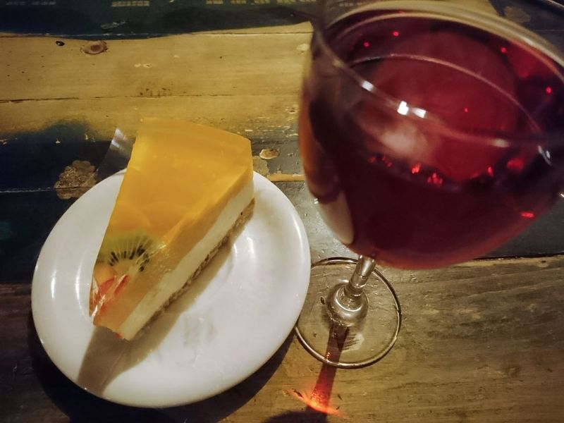 Drink Cake♥ Cake Time Dessert Sweet Food Table Wood - Material Food And Drink Food No People Alcohol Angelina B Red Wine Rose Wine Italy Wine Restorant Plate Glass 🍷 Wine Indoors  Comfort Food Wine Moments Evening Meetings Sony Xperia Photography.