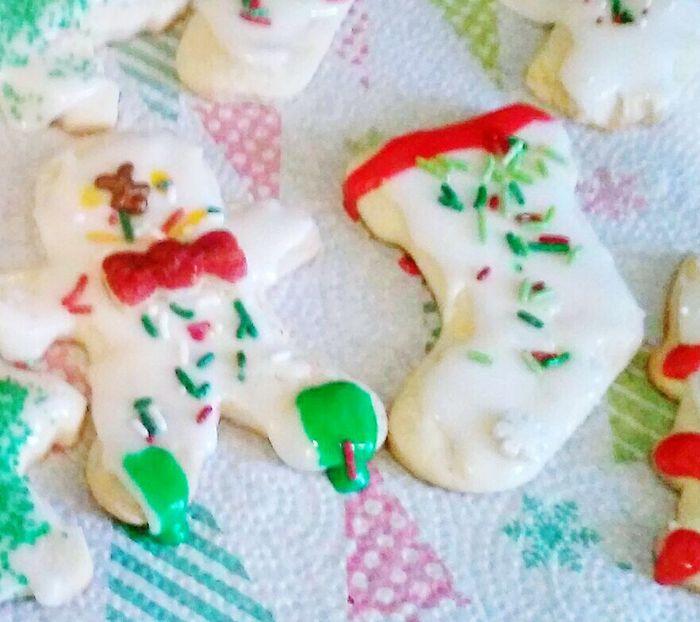 Holidaydessert SugarCookies Yummy Icing Cookies