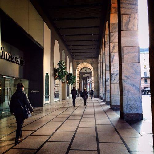 Full length of woman walking in city