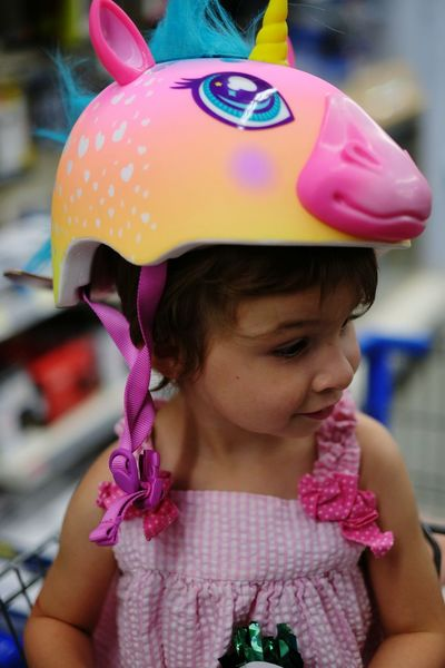 Helmet Kids Being Kids Unicorn Check This Out Shopping Outsiderin