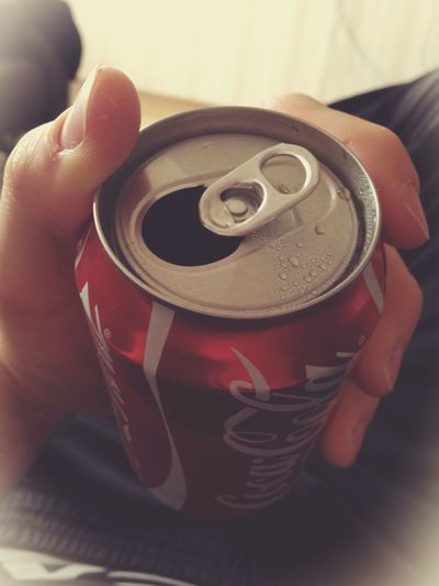 Cocacola Relax Drinking Sitting