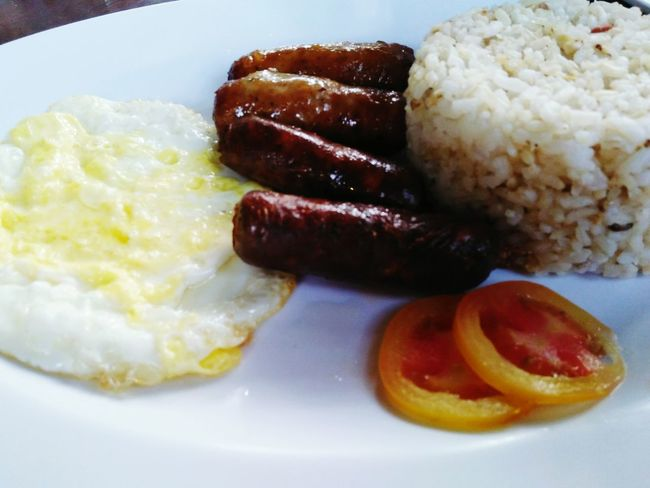 Processed Meat Fried Egg Sausage Fried Food And Drink Bacon Egg Yolk Indoors  Close-up Breakfast Ready-to-eat Plate No People English Breakfast Freshness Day Longganisa Longganisanglucban Egg Sunnysideup Food Delicious Yummy Foodie Food Photography