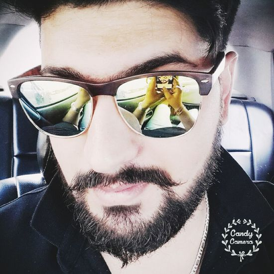 Beardlife Eyeglasses  Sunglasses Headshot Attitude Taking Photos Selfi : ) Awsome Day ♥ Timepassclicking Hottie Perfection Carselfie Car