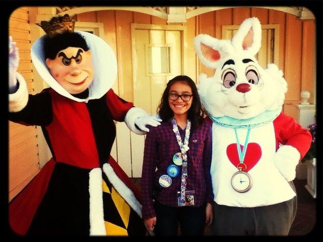 Me At DisneyLand !!