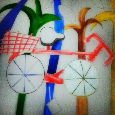 """""""the bicycle in the forest"""" pursuance..."""