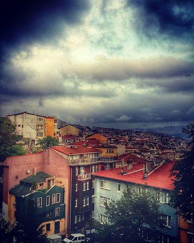 Yurdumun Manzaraları Abdipalace Cloudy View Istanbul