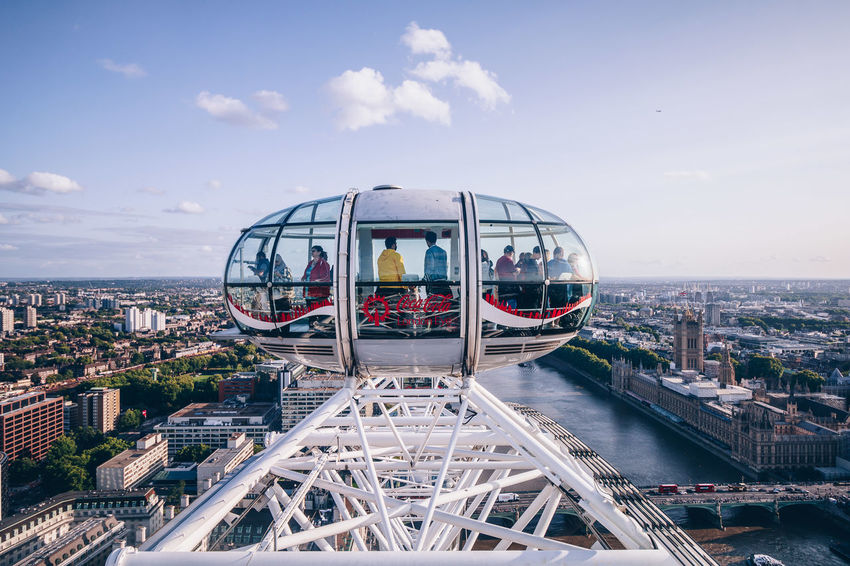 London Eye, London Beautiful LONDON❤ London London Lifestyle London Streets Sky And Clouds Sunset_collection Architecture Building Exterior City Commercial Destination Destinations London_only Londonlife Magazine Outdoors Sky Sunrise_sunsets_aroundworld Sunshine Timeoutlondon