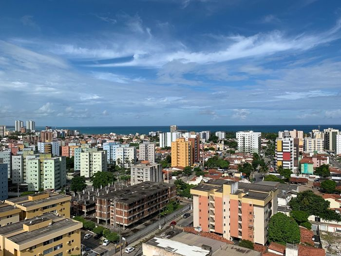 Beatifull Maceio City City Architecture Building Exterior Built Structure Building Cityscape Residential District Apartment Town Cloud - Sky Sky