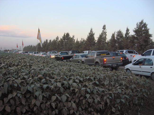 Mode Of Transport Non-urban Scene Returning Home Traffic Jam