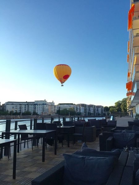 Eating AirBalloon Water Socializing Enjoying Life Relaxing Hanging Out Great Atmosphere Balloon
