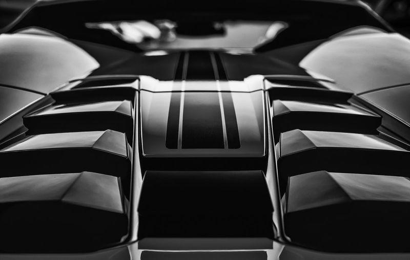 Black Beauty Carporn Backside Monochrome Carparts Carphotography Supercar Sportcars EyeEm Selects EyeEm Best Shots First Eyeem Photo Hello World Highspeed Fun Indoors  No People Still Life Close-up High Angle View