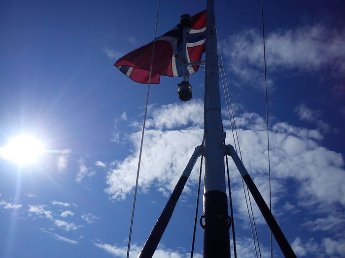 missing this day! Norge Flagga Sol Fiske