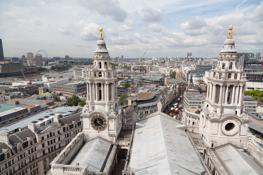 EyeEm Selects Cityscape City Architecture High Angle View Outdoors Travel Destinations Urban Skyline Building Exterior Cloud - Sky Sky Panoramic Built Structure Day Landscape No People London City Life View Historic Tourism Cityscape City Aerial View Landmark