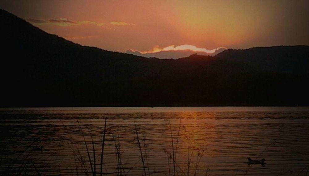 Sunset #landscape #nature #photography Estany De Banyoles