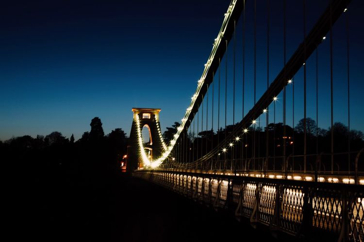 Welcome to the other side Suspension Bridge Connection Built Structure Engineering No People Illuminated Sky Night Architecture Travel Destinations Bridge - Man Made Structure Bridge Bristol EyeEmNewHere Lit Up Discovery By Night Night Lights Night Photography Clifton Clifton Suspension Bridge Evening Walk