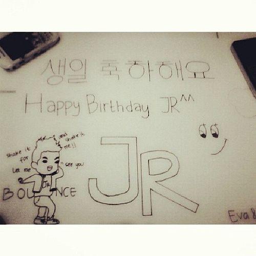 Ini buatan tahun kemaren Birthday Jr Parkjinyoung Jjproject hbd jrjyp20thBirthday