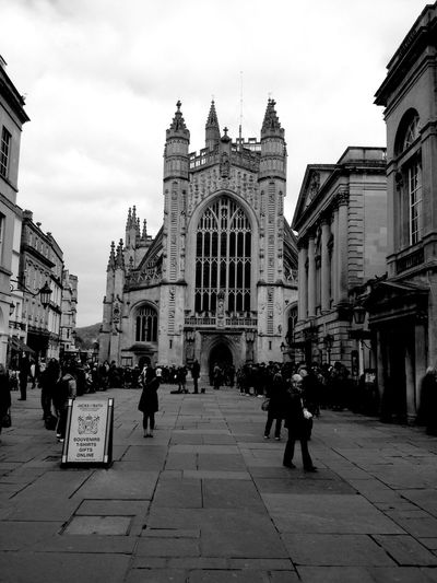 Bath Abbey  City Of Bath Historic Architecture Gothic Architecture The Architect - 2016 EyeEm Awards